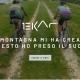 Il vido di sfondo alla Landing Page di lancio della campagna Born before roads