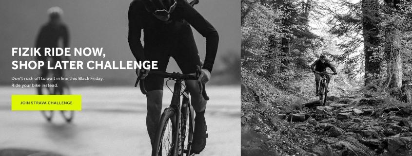 La parte visuale della landing page dedicata alla campagna Ride now shop later